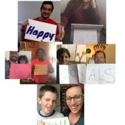 Happy Admin Day Collage